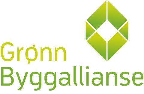 Grønn Byggallianse logo