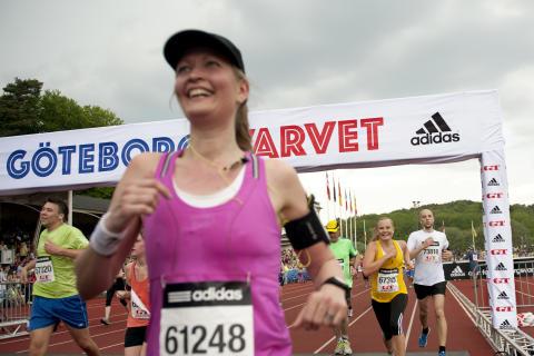 1 miljon kan tänka sig springa GöteborgsVarvet