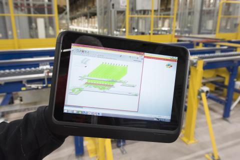 JYSK besluttede sig for, at udskifte det gamle system med WAMAS-logistiksoftwaren fra SSI Schäfer