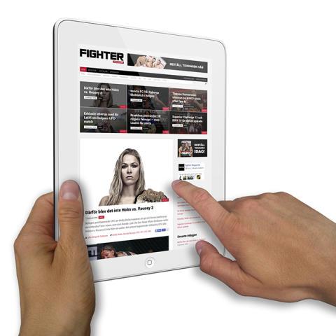 Fighter Magazine ökar mest i Norden