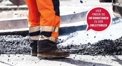 Angepasste Verkehrsführung soll Staus an den Pfingsttagen reduzieren