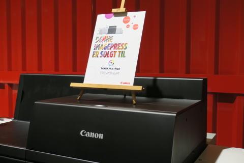 Canon Norge og imagePRESS-teknologien fortsetter å ta markedet med storm