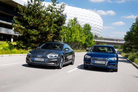 Säljstart för A4 Avant och A5Sportback g-tron - klimatsmarta tjänstebilsalternativ
