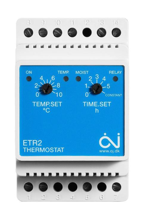 Thermotech GEOSystem Snösmältningstermostat ETR2