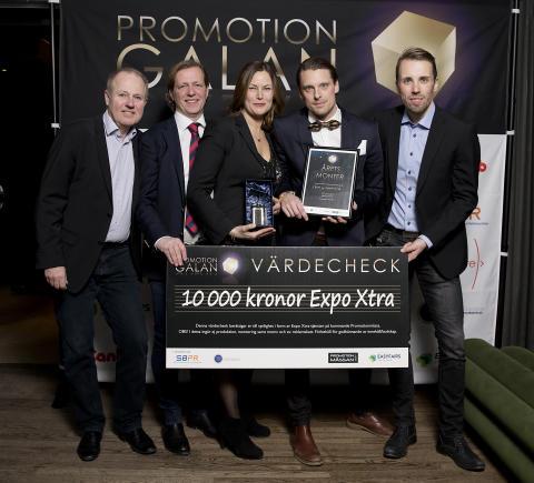 De vann priser på Promotiongalan