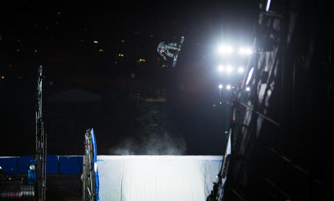 Fridtjof Sæther Tischendorf under X Games Oslo