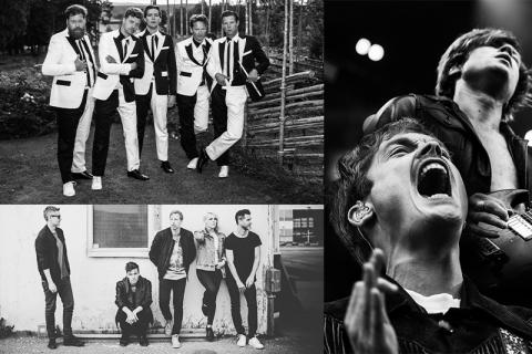 The Hives, Mando Diao och The Sounds slår publikrekord!