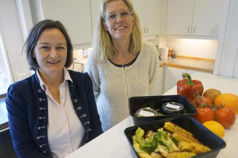Viktoria Olsson och Viveca Wallin Bengtsson