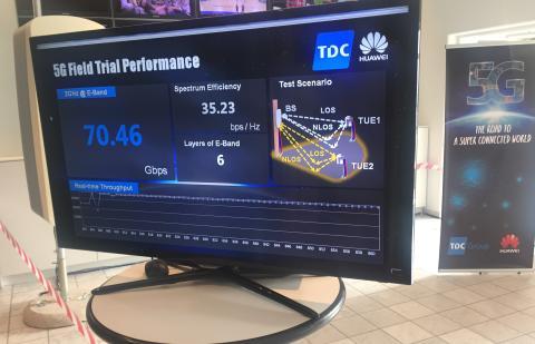 TDC Group tester 5G - op til 1000 gange hurtigere mobilnet
