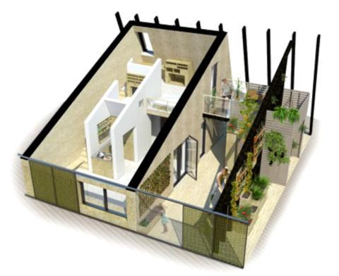 Effektiv isolering af fremtiden intelligente storby-bolig