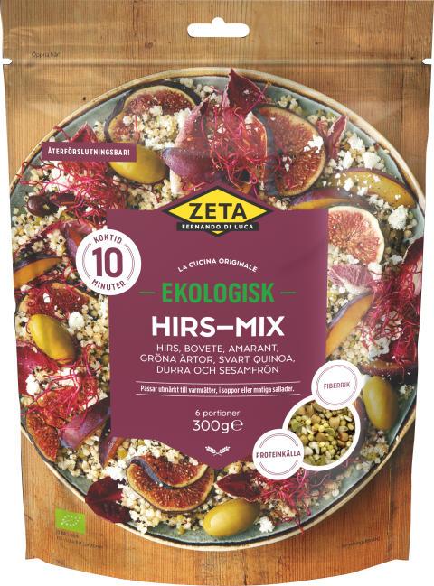 Produktbild Zeta ekologisk Hirs-mix, 300 g