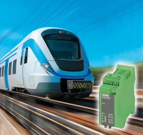 High-speed Profibus Extender – nu også til jernbaneapplikationer