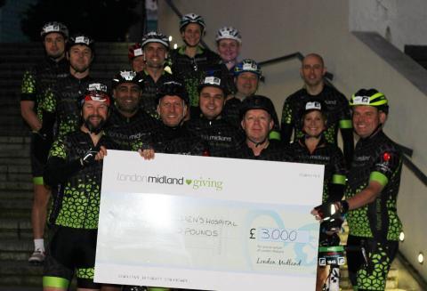 Pedal power raises money for Birmingham Children's Hospital