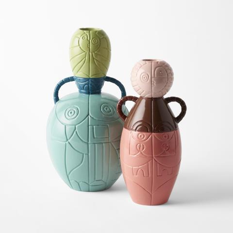 Vases, Via Sallustiana by Liselotte Watkins