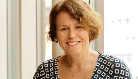 Einar Mattssons Britta Blaxhult i Stockholms byggnadsförenings styrelse
