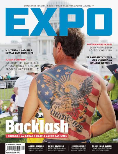 Nya numret av Expo granskar den växande rasismen i USA