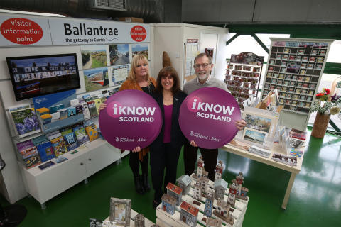 Visitor information grows roots in Ayrshire