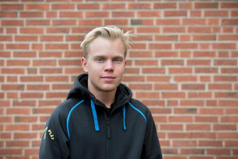 David Rudberg, Högbergsskolan, Tierp