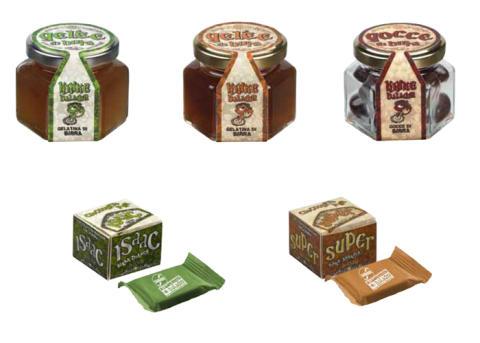 Baladins nya ölgelé och -choklad