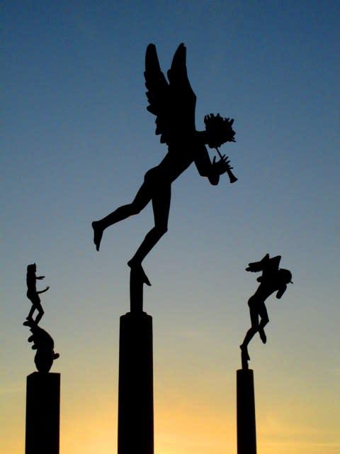 Millesgården Musicerande änglar