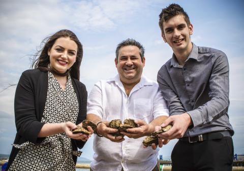 Stena Line gets onboard the Stranraer Oyster Festival