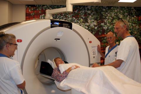 PET-centrum på Akademiska blir internationellt referenscentrum för ny PET-CT-kamera