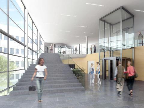 Södersjukhuset interiör