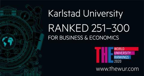 Karlstads universitet placerar sig högt i internationell rankning