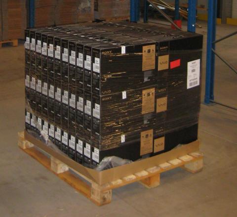 Logistiken för Sony VAIO flyttas till DHL:s högsäkerhetslager i Jönköping