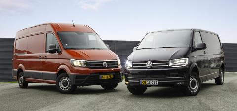 Volkswagen Erhvervsbiler styrker Transporter og Crafter med nyt leasingprogram og prisstruktur