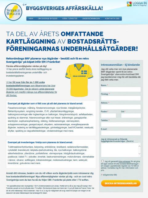 Kampanj Brf 2016 - Sverige Bygger har koll på trenderna!