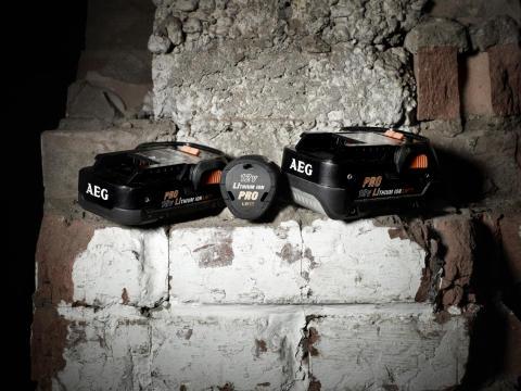 AEG Pro Lithium-Ion batterier