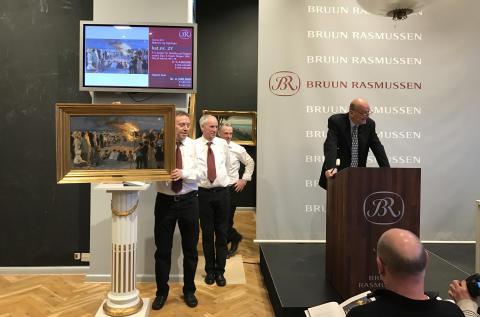 Jesper Bruun Rasmussen sælger Krøyers studie for 4,3 mio. kr.