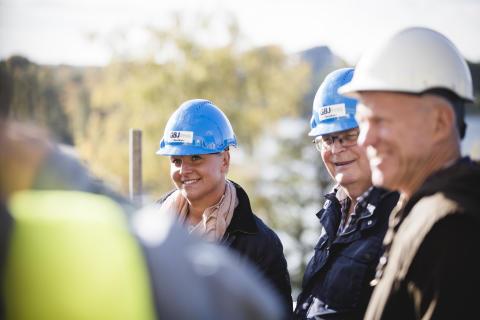 Växjöpolitiker fick lära sig mer om hållbart byggande