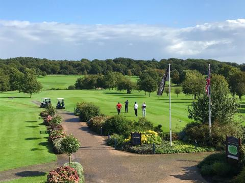 Midlands businesses take a swing for the Air Ambulance at Smith Cooper's annual charity Golf Day