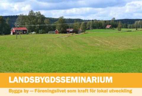 Lindesbergs kommun bjuder in till landsbygdsseminarium i Ramsberg