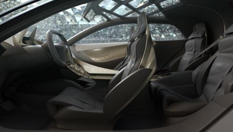 DIVINE DS - konceptbilens interiör