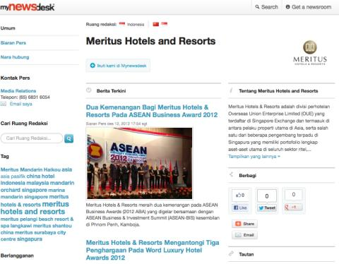 Engage the Indonesian market with Mynewsdesk