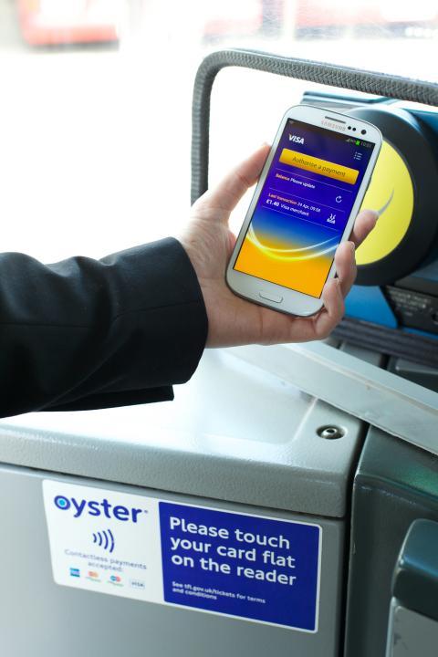 Doprava v Londýně - bezkontaktní platby - ilustrační foto 1