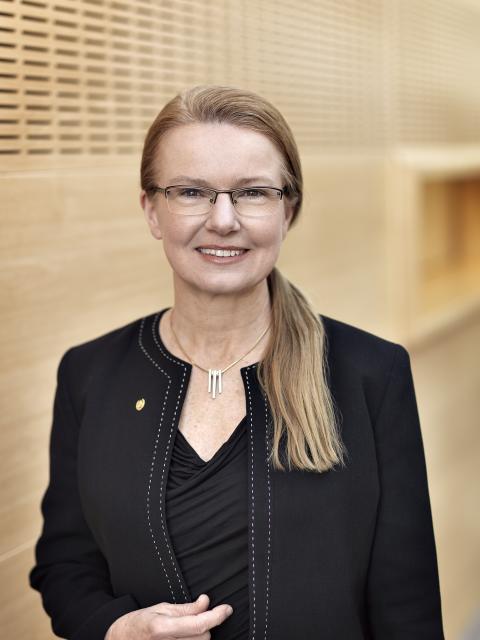 Karin Markides, rektor och vd för Chalmers tekniska högskola AB
