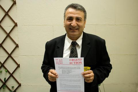 """Syrien: Aktivist från """"Damaskusvåren"""" fri"""