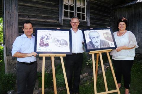 Lansering Prøysen-frimerker