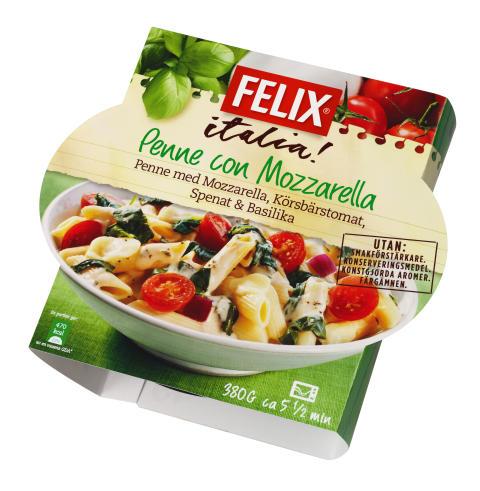 Felix Italia - Penne con Mozzarella