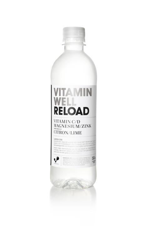 Dags att ladda om? Vitamin Well lanserar Reload – fylld med D-vitamin