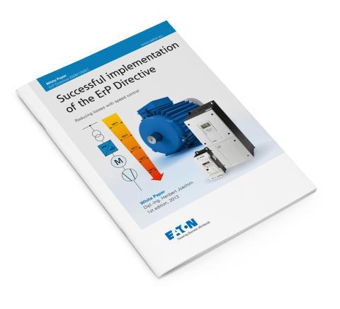 White paper om ErP-direktivet: Optimera energieffektiviteten med rätt drivlösning