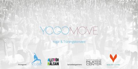 Yogobe tillsammans med Allt för Hälsan anordnar yoga- & träningskonventet tillsammans med samarbetspartners Stockholm Pilatescenter och Healthy Living.