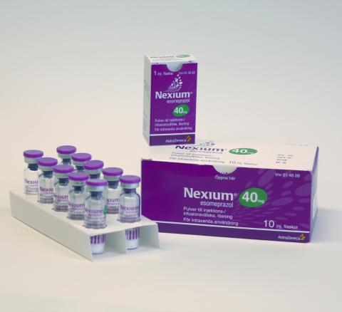 Nexium för intravenös användning