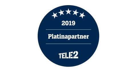 ITS Nordic utses till Platina-partner av Tele2