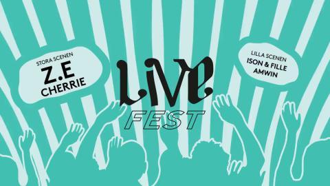 Livesfest – en dag, två scener, fyra konserter