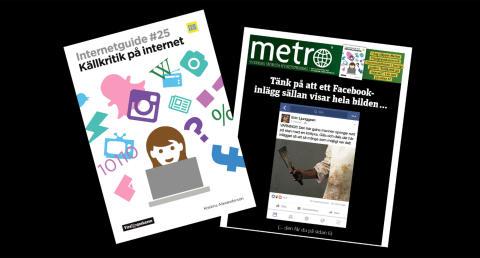 METRO VIGER FÖRSTASIDAN TILL KÄLLKRITIK PÅ NÄTET